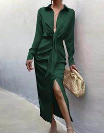 Obleka - koda 6459 - temno zelena