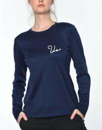 Bluza - koda 6516 - 1 - temno modra