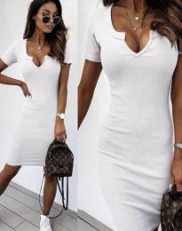 Obleka - koda 2202 - bela