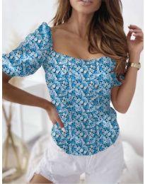 Bluza - koda 9897 - svetlo modra