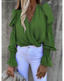 Bluza - koda 5451 - zelena