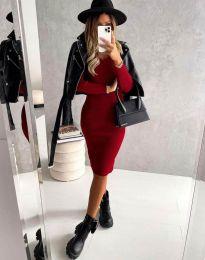 Obleka - koda 4845 - rdeča