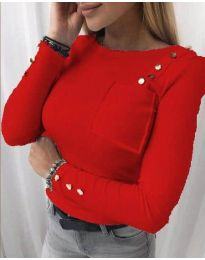 Bluza - koda 1597 - 1 - rdeča