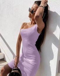 Obleka - koda 6412 - svetlo vijolična