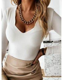 Bluza - koda 4086 - bela