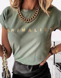 Majica - koda 4079 - zelena