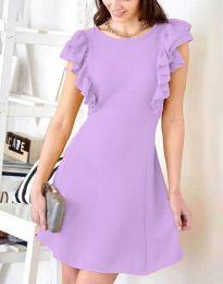 Obleka - koda 7111 - svetlo vijolična