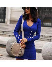 Obleka - koda 4516 - modra