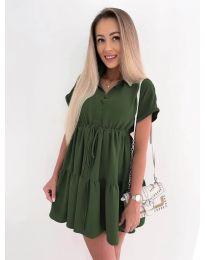Obleka - koda 8889 - olivna