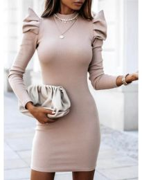 Obleka - koda 1504 - 1 - bež