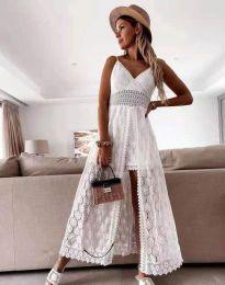 Obleka - koda 2704 - bela