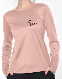 Bluza - koda 6516 - 2 - roza