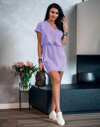 Obleka - koda 3214 - svetlo vijolična
