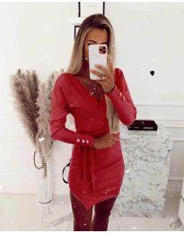 Obleka - koda 2077 - rdeča