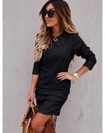 Obleka - koda 8293 - črna