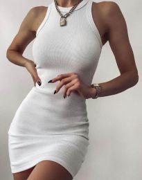 Obleka - koda 2470 - 1 - bela