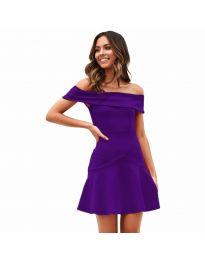 Obleka - koda 611 - temno vijolična