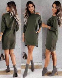 Obleka - koda 0796 - olivna