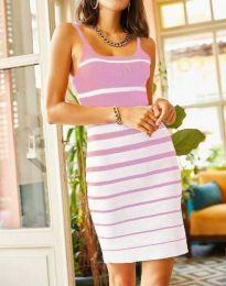 Obleka - koda 0998 - svetlo roza