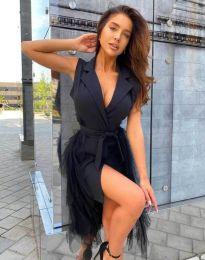 Obleka - koda 2256 - 1 - črna