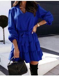 Obleka - koda 8272 - temno modra