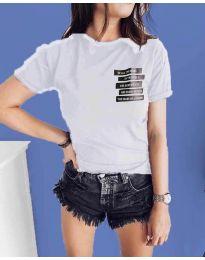 Majica - koda 437 - bela