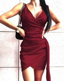 Obleka - koda 4678 - bordo