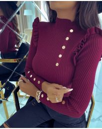 Bluza - koda 6566 - bordo