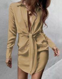 Obleka - koda 5866 - bež