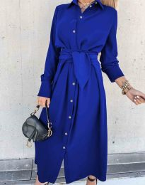 Obleka - koda 1860 - modra