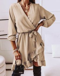 Obleka - koda 5371 - bež