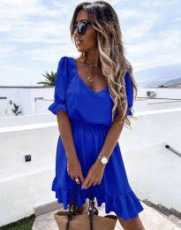 Obleka - koda 6460 - modra
