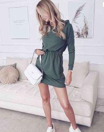 Obleka - koda 7846 - olivna