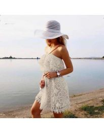 Obleka - koda 4849 - bela