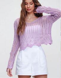 Bluza - koda 2744 - vijolična
