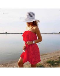 Obleka - koda 4849 - rdeča