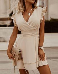 Obleka - koda 5654 - bež