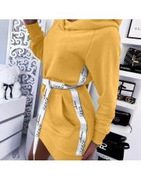 Obleka - koda 4483 - gorčica