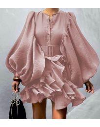 Obleka - koda 2819 - roza
