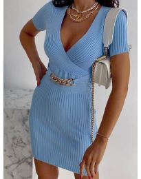 Obleka - koda 4305 - svetlo modra