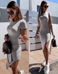 Obleka - koda 8391 - siva