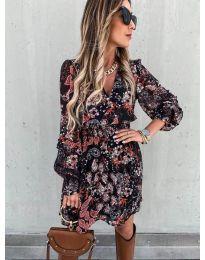 Obleka - koda 7712 - 2 - večbarvna