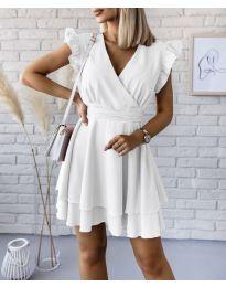 Obleka - koda 409 - bela