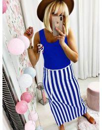 Obleka - koda 5544 - modrá