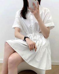 Obleka - koda 6292 - bela