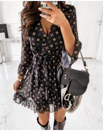Obleka - koda 5258 - črna