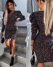 Obleka - koda 2055 - 2 - črna