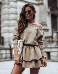 Obleka - koda 12051 - bež