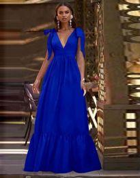Obleka - koda 2743 - temno modra