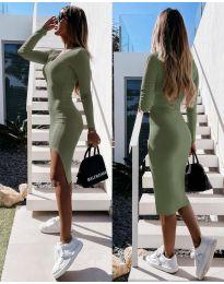Obleka - koda 8291 - zelena